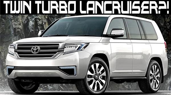 Toyota Land Cruiser 2021 3.5L V6 Tubor