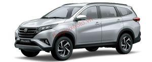 Toyota Rush màu bạc (1E7)