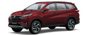 Toyota Rush màu đỏ đun (3Q3)
