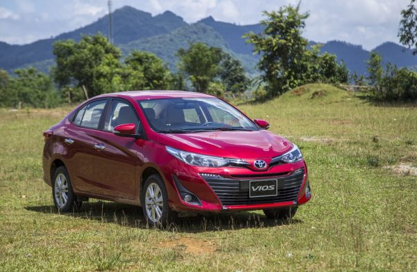 toyota vios 1.5G CVT bản full options