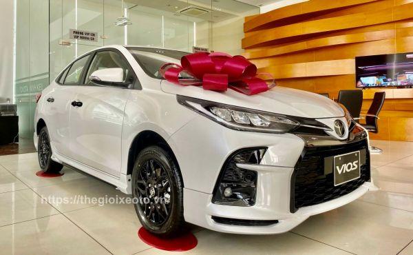 Ngoại thất Toyota Vios GR-S 2021