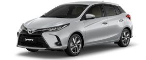 Toyota Yaris màu bạc (1D4)