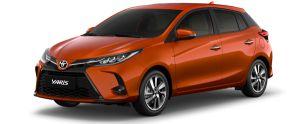 Toyota Yaris màu cam (4R8)