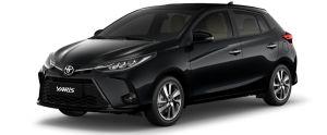 Toyota Yaris màu đen (218)