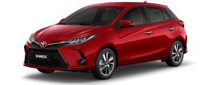 Toyota Yaris màu đỏ đun (3R3)