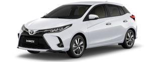Toyota Yaris màu trắng (040)