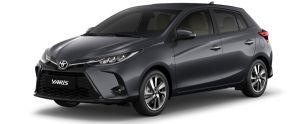 Toyota Yaris màu xám (1G3)