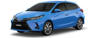 Toyota Yaris màu xanh (8W9)