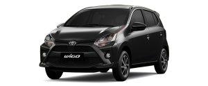 Toyota Wigo màu đen (X13)