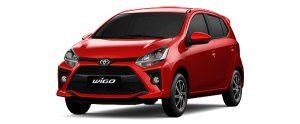 Toyota Wigo màu đỏ (R40)