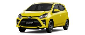 Toyota Wigo màu vàng (Y13)