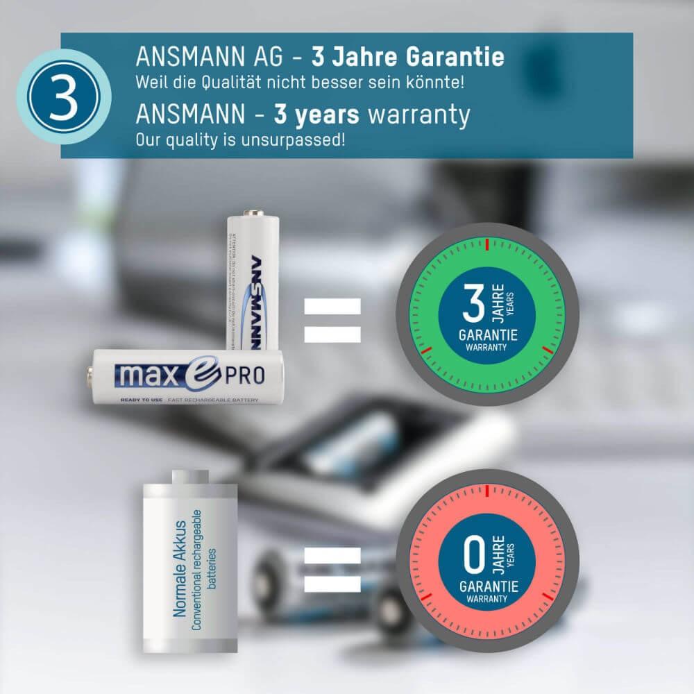 Pin sạc AA Ansmann Max E Pro 2000mAh