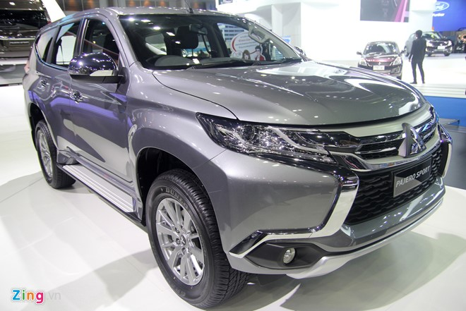 Mitsubishi Pajero Sport 2016 gia tu 733 trieu tai Thai Lan hinh anh 2