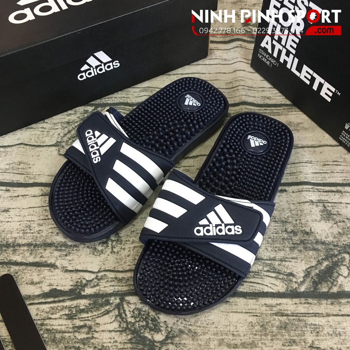 Dép Thể Thao Nam Adidas Adissage Slides 078261