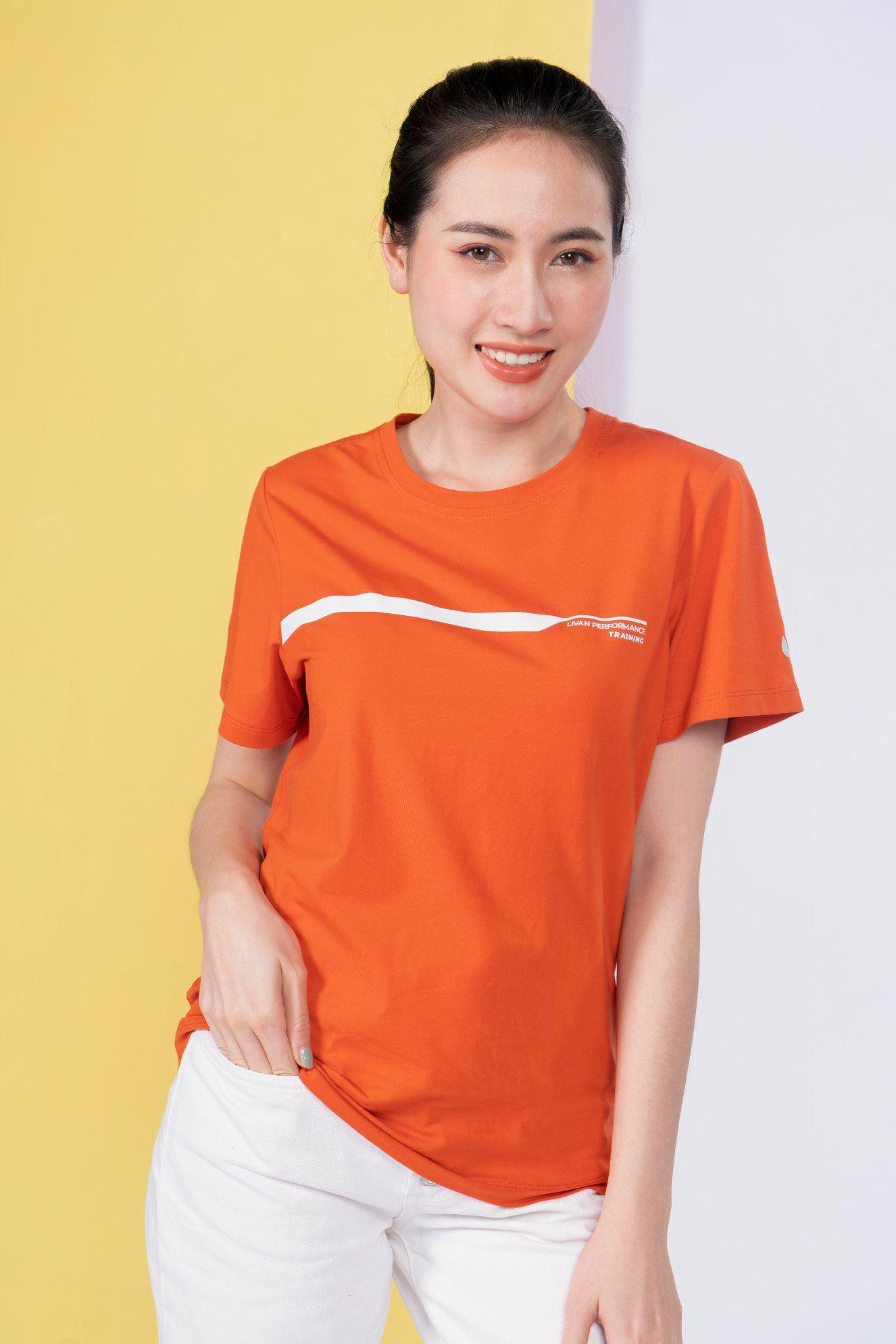 Áo T-shirt Meta nữ Livan LV21211104