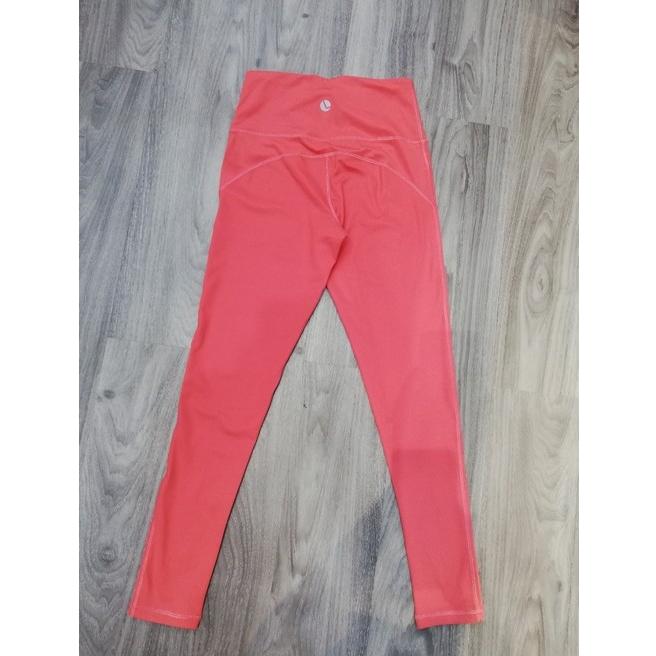 Quần legging nữ màu cam đào 210075