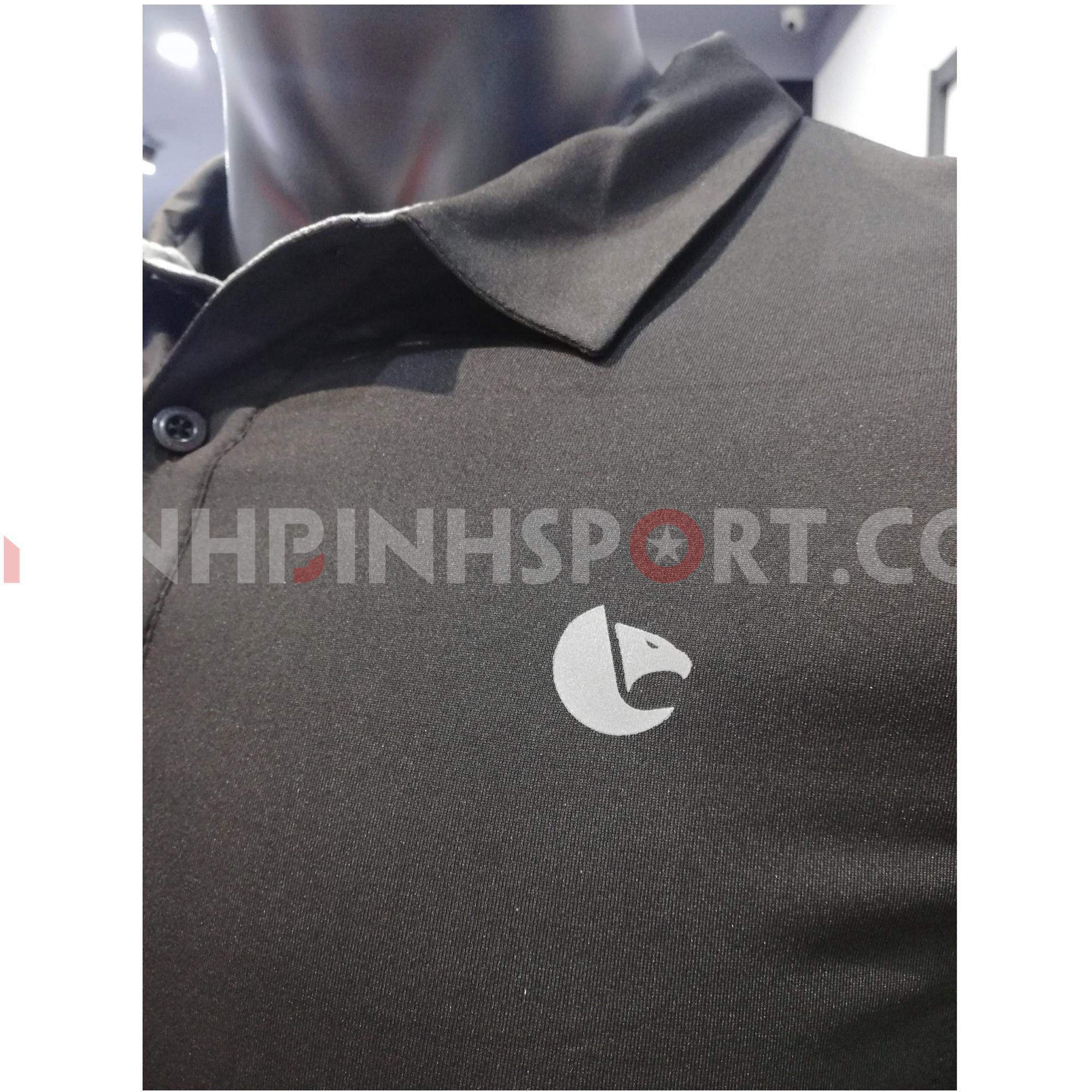 Áo polo nam màu đen 221029
