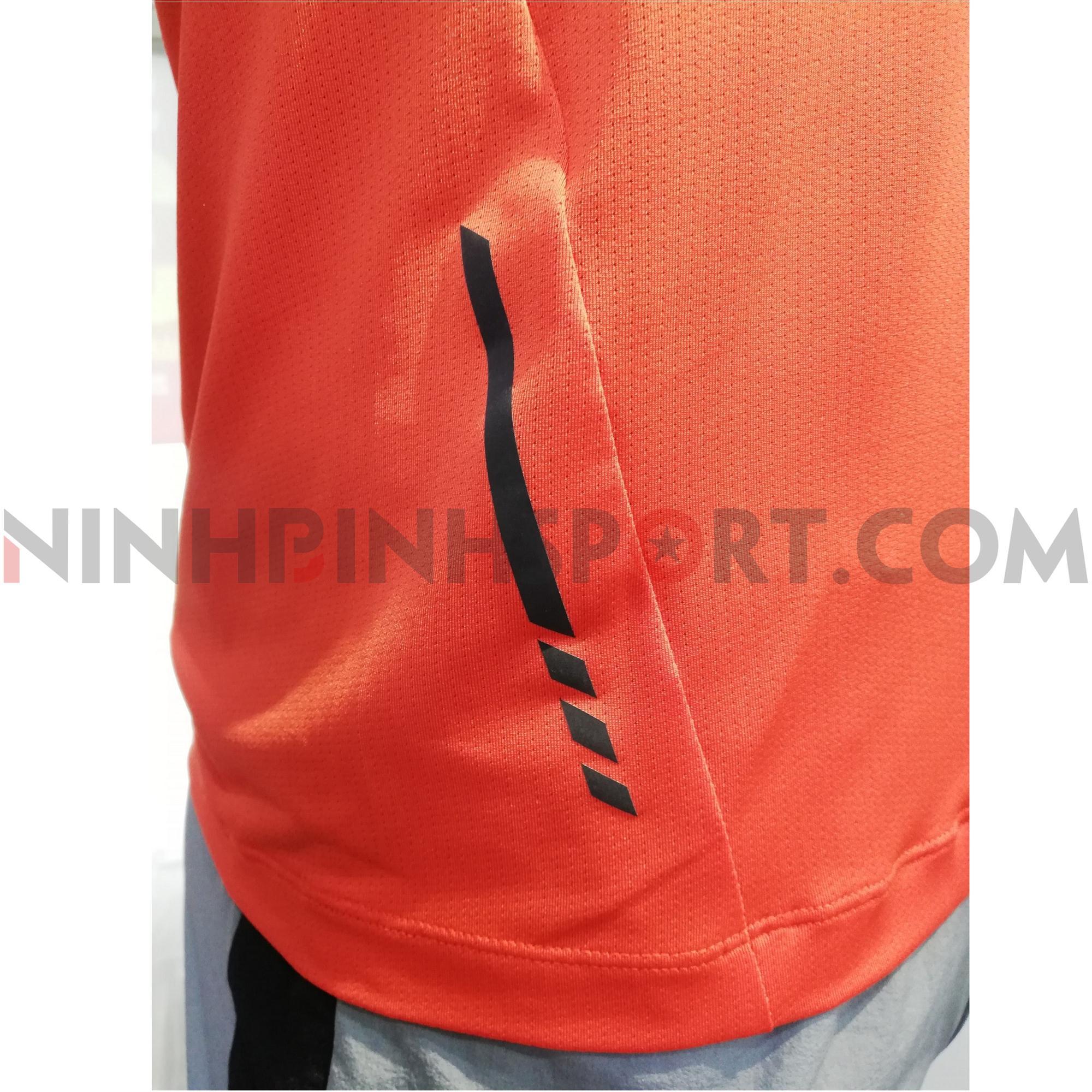 Áo T shirt nam LVTRAIN màu cam 221053