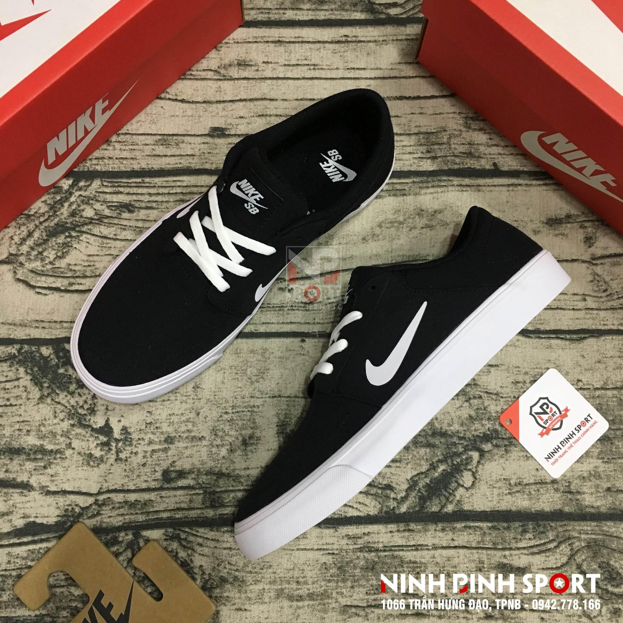 Giày thể thao nam Nike SB Portmore Canvas 723874-001