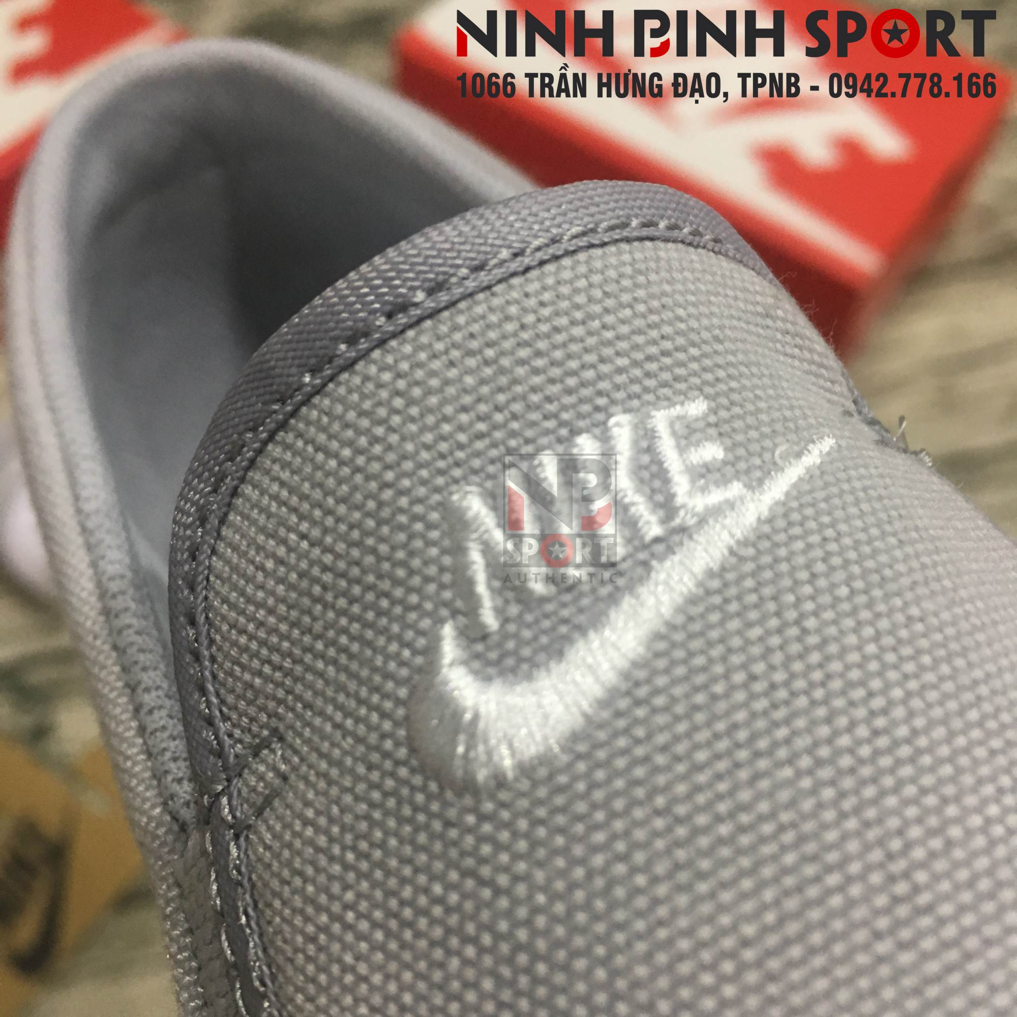Giầy thể thao nam Nike Toki Slip-on Grey 724762-010