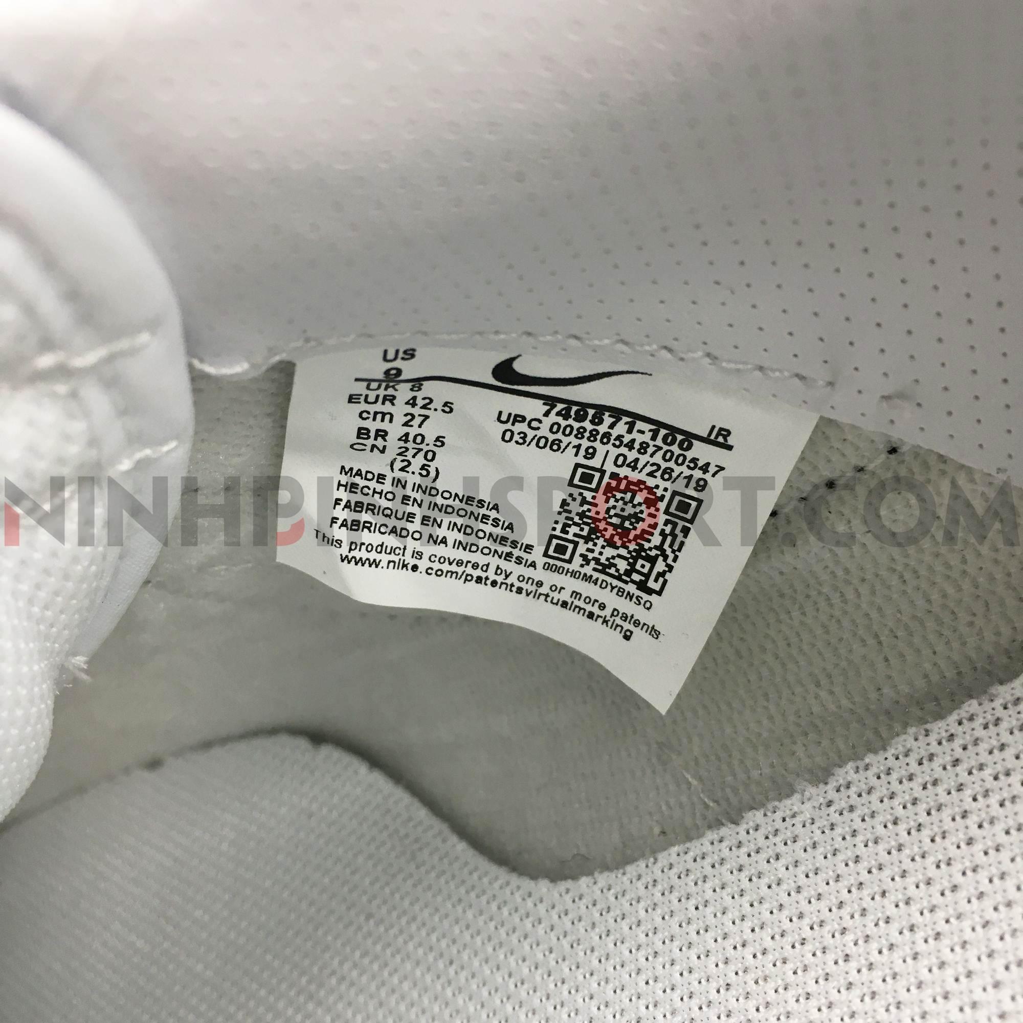 Giày thể thao nam Nike Classic Cortez 749571-100