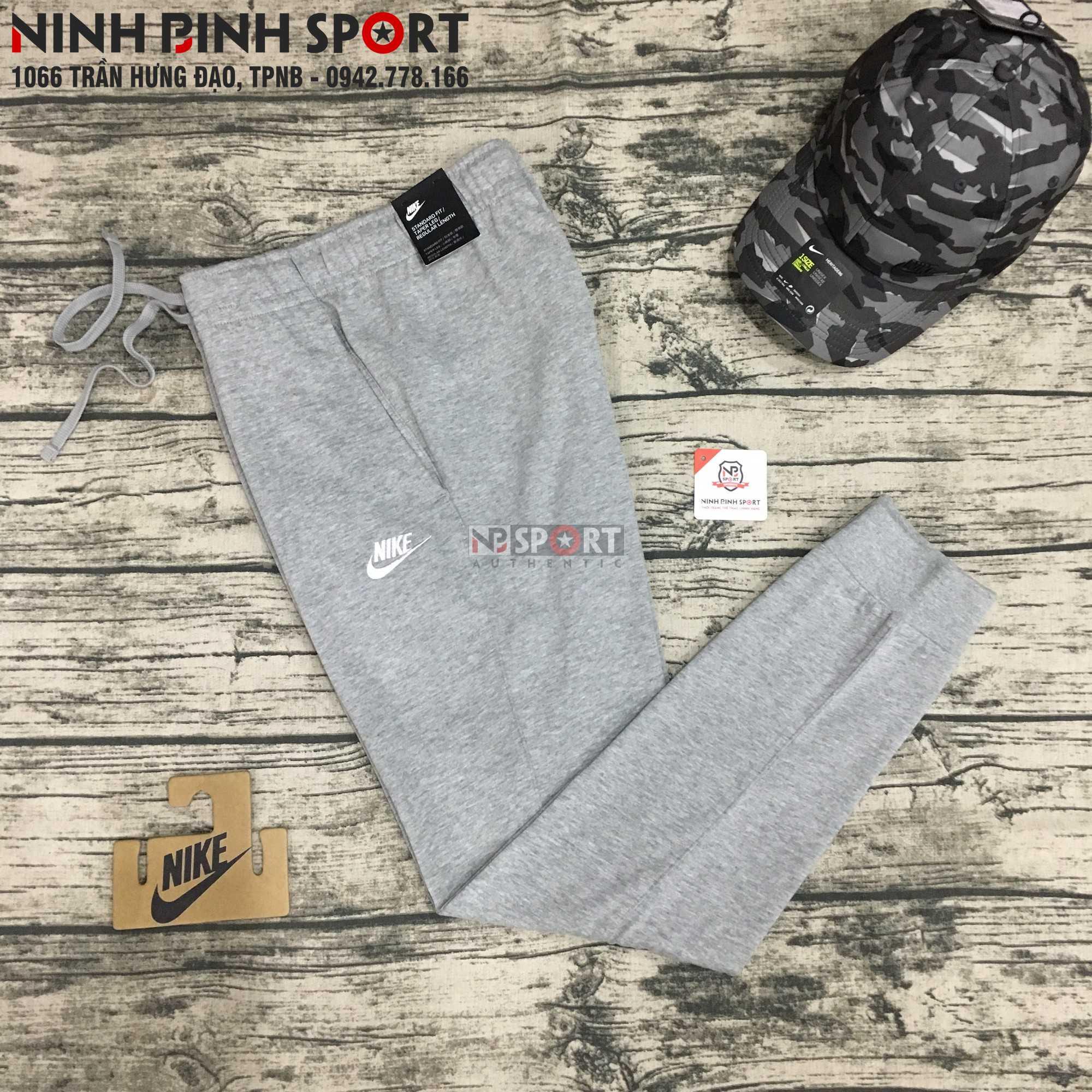 Quần dài thể thao nam Nike Nsw Club Jersey Jogger 804462-063