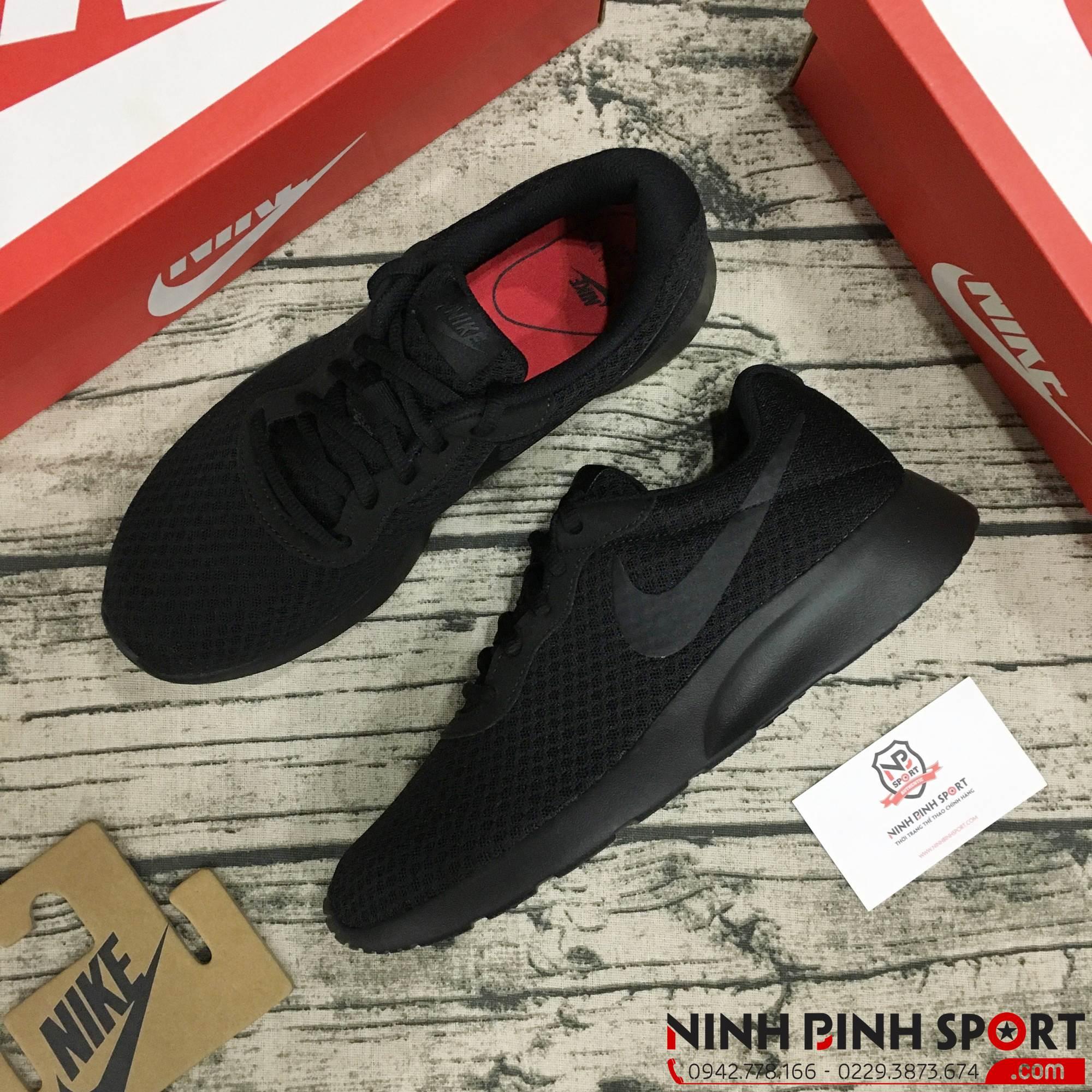Giày thể thao Nike Tanjun Running Shoes Blac 812654-001