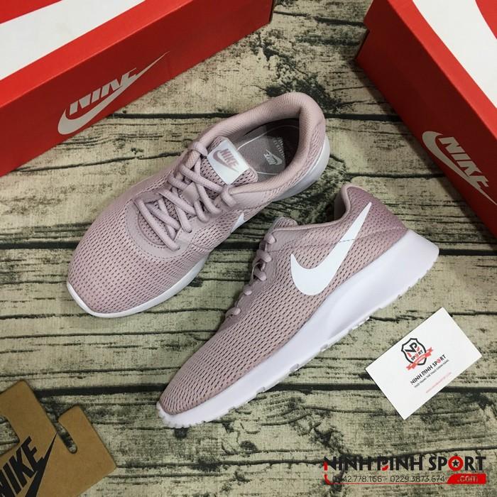 Giày thể thao Nike Tanjun Womens Particle Rose Pink Mesh 812655-605