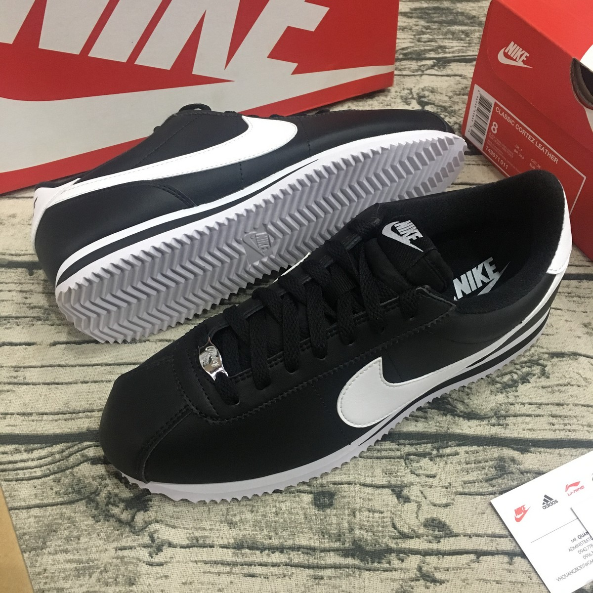 Giầy thể thao nam Nike Cortez Basic 819719-012