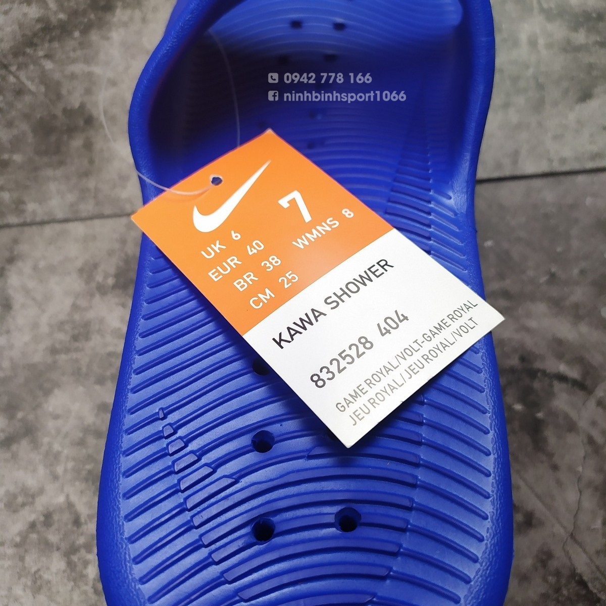 Dép thể thao nam Nike Kawa Shower Mens Slide 832528-404