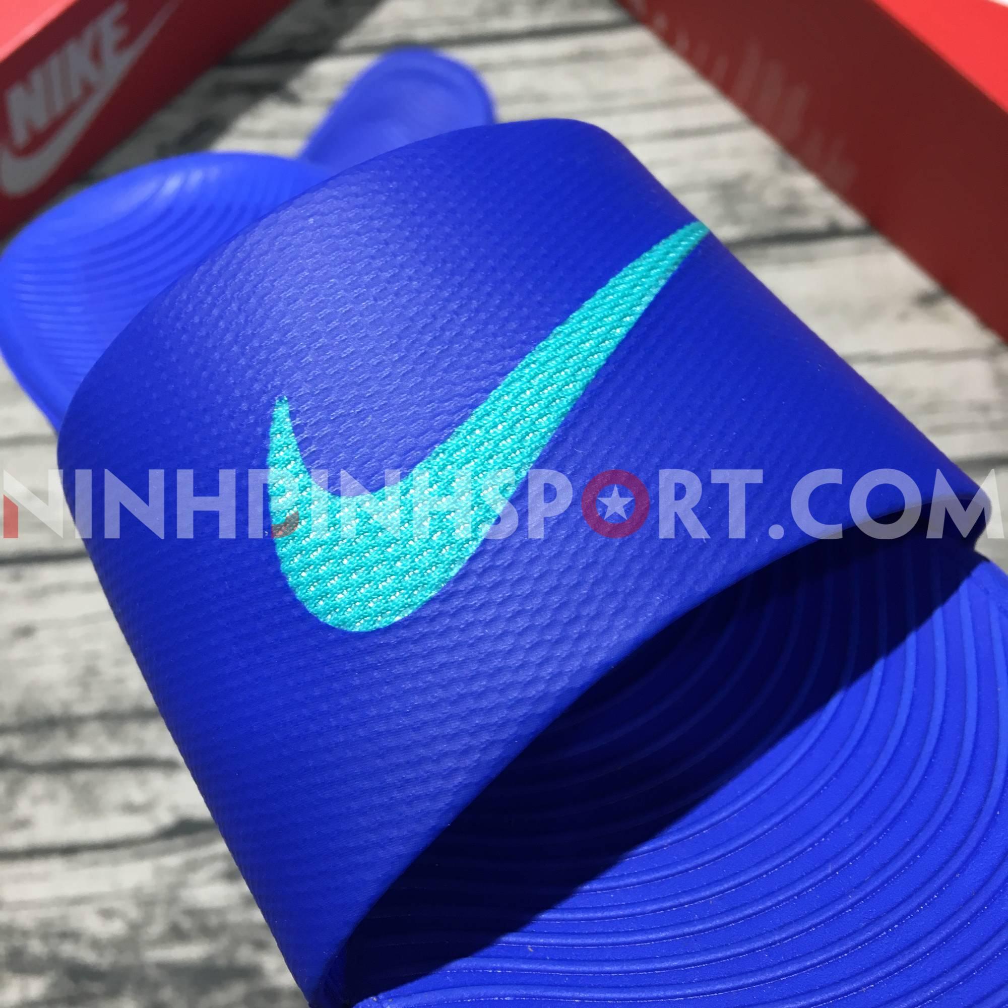 Dép thể thao nam Nike Kawa Slide Blue 832646-402