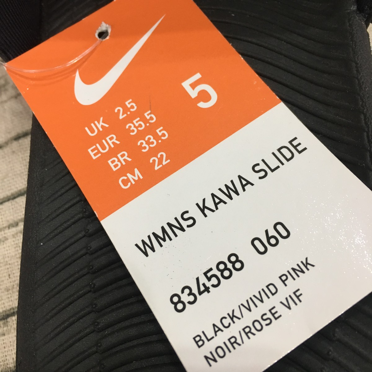 Dép Sportswear Nike Kawa Nữ 834588-060