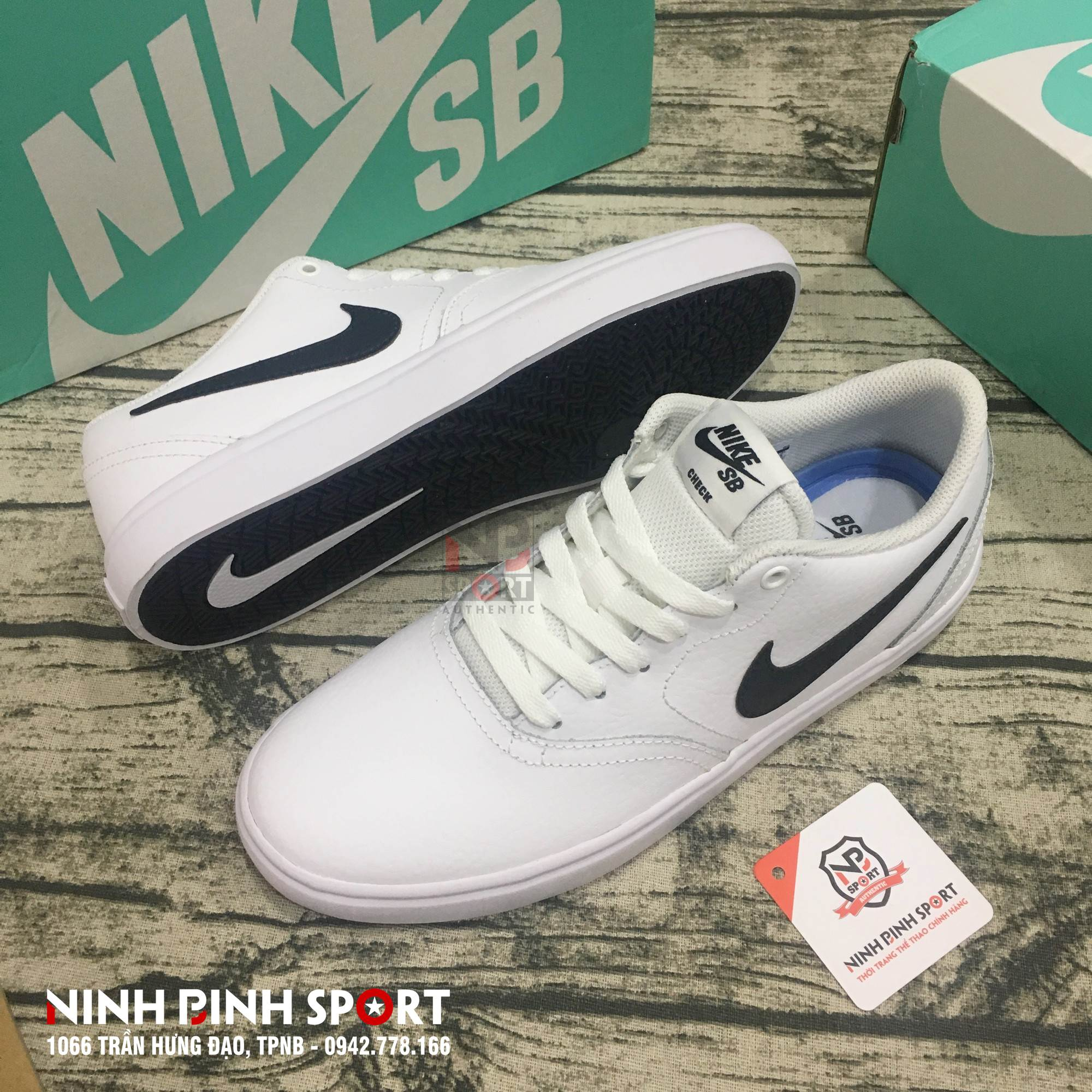 Giầy thể thao nam Nike SB Check 843895-101