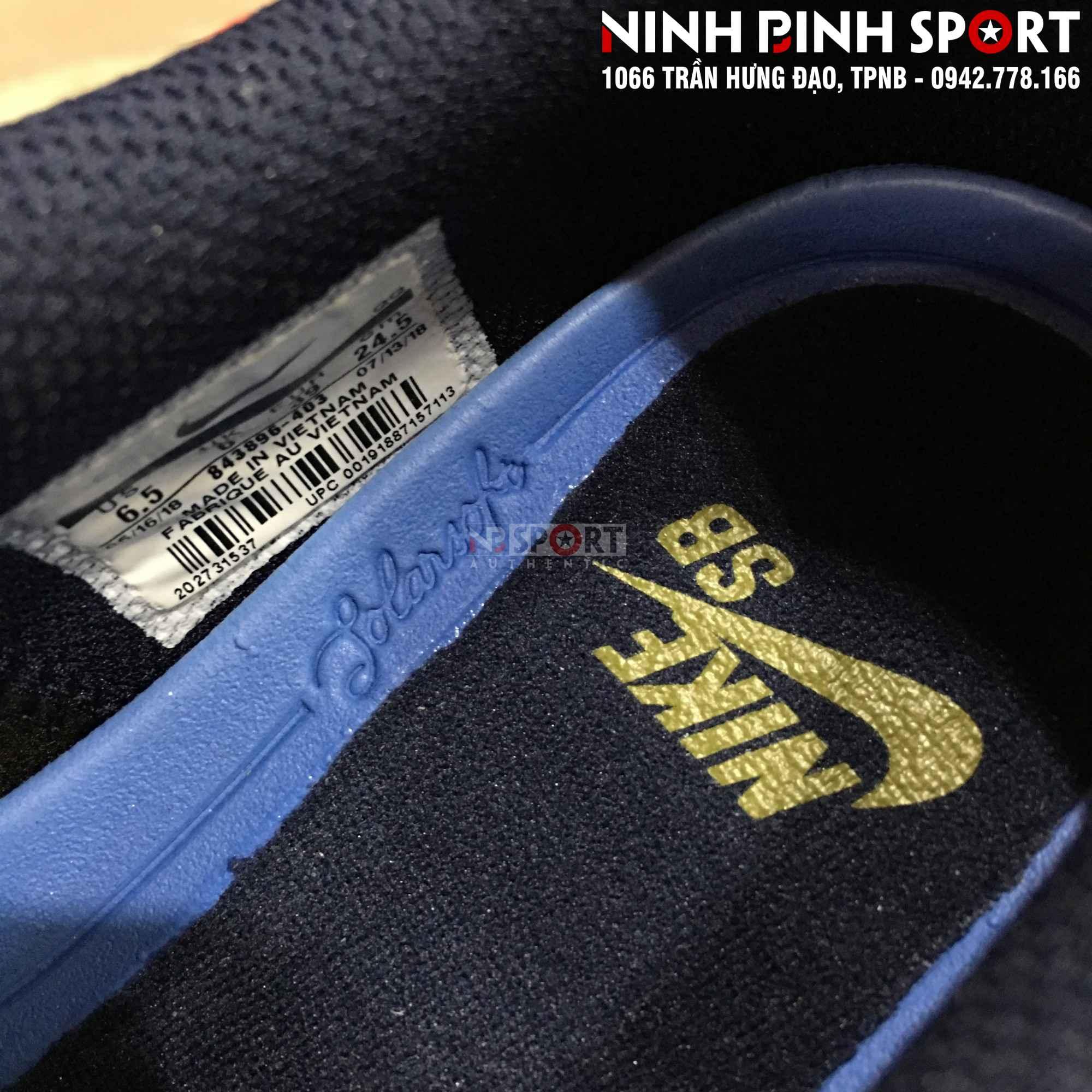 Giầy thể thao nam Nike SB Check Solar Canvas 843896-403