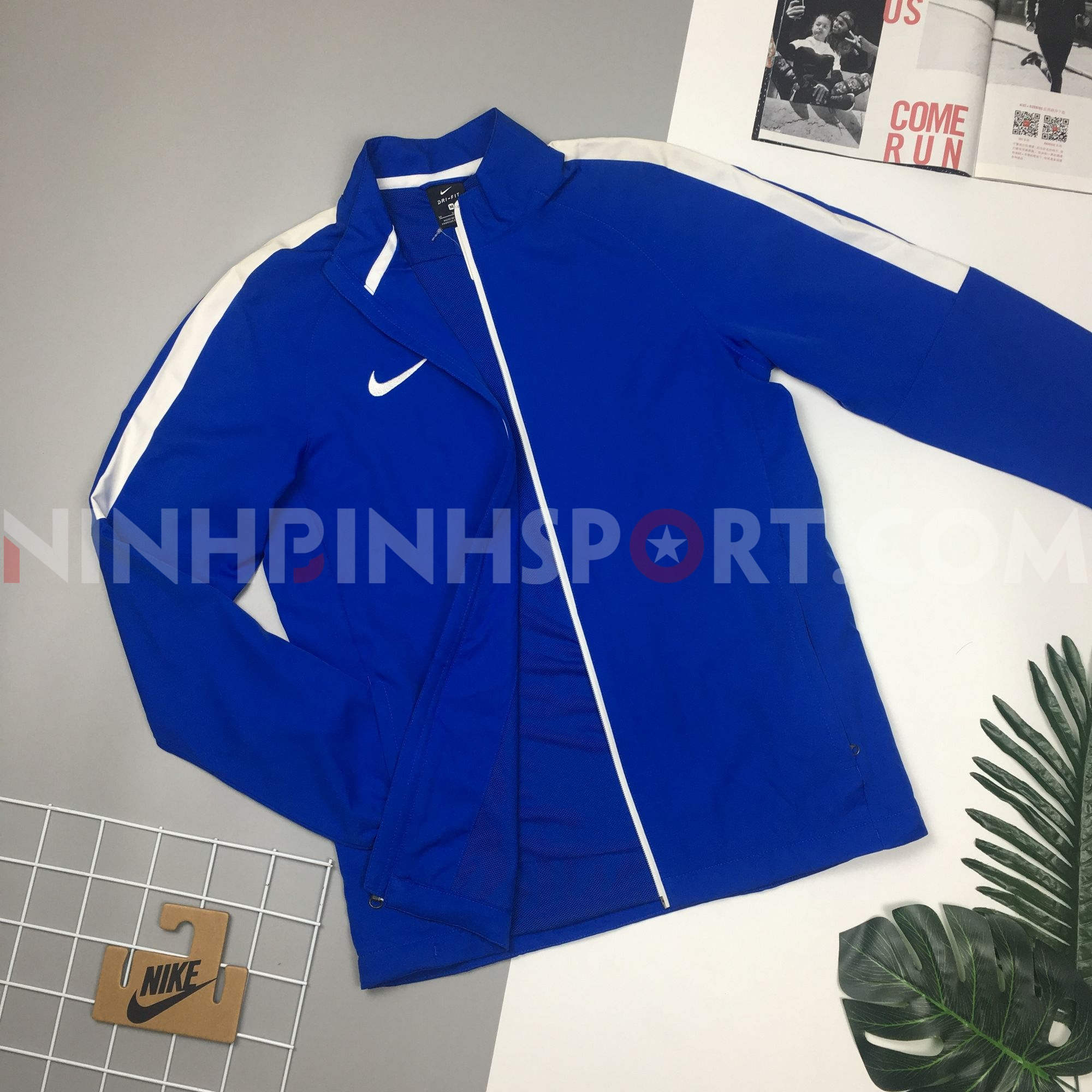 Áo thể thao nam Nike Dry Academy Football 844330-480A