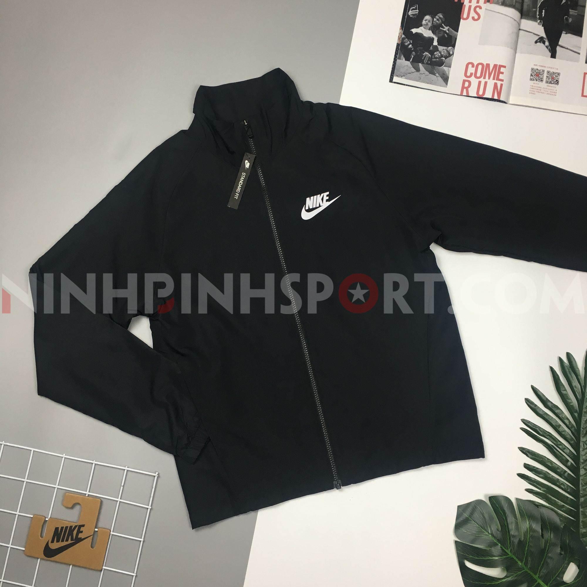 Bộ thể thao nam Nike Woven Basic Tracksuit Black 861779-010