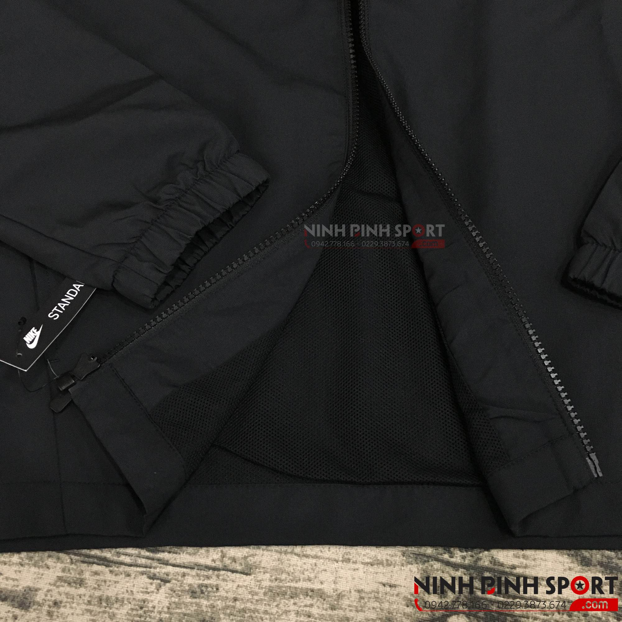Áo khoác thể thao nam Nike Woven Basic Tracksuit Black 861779-010