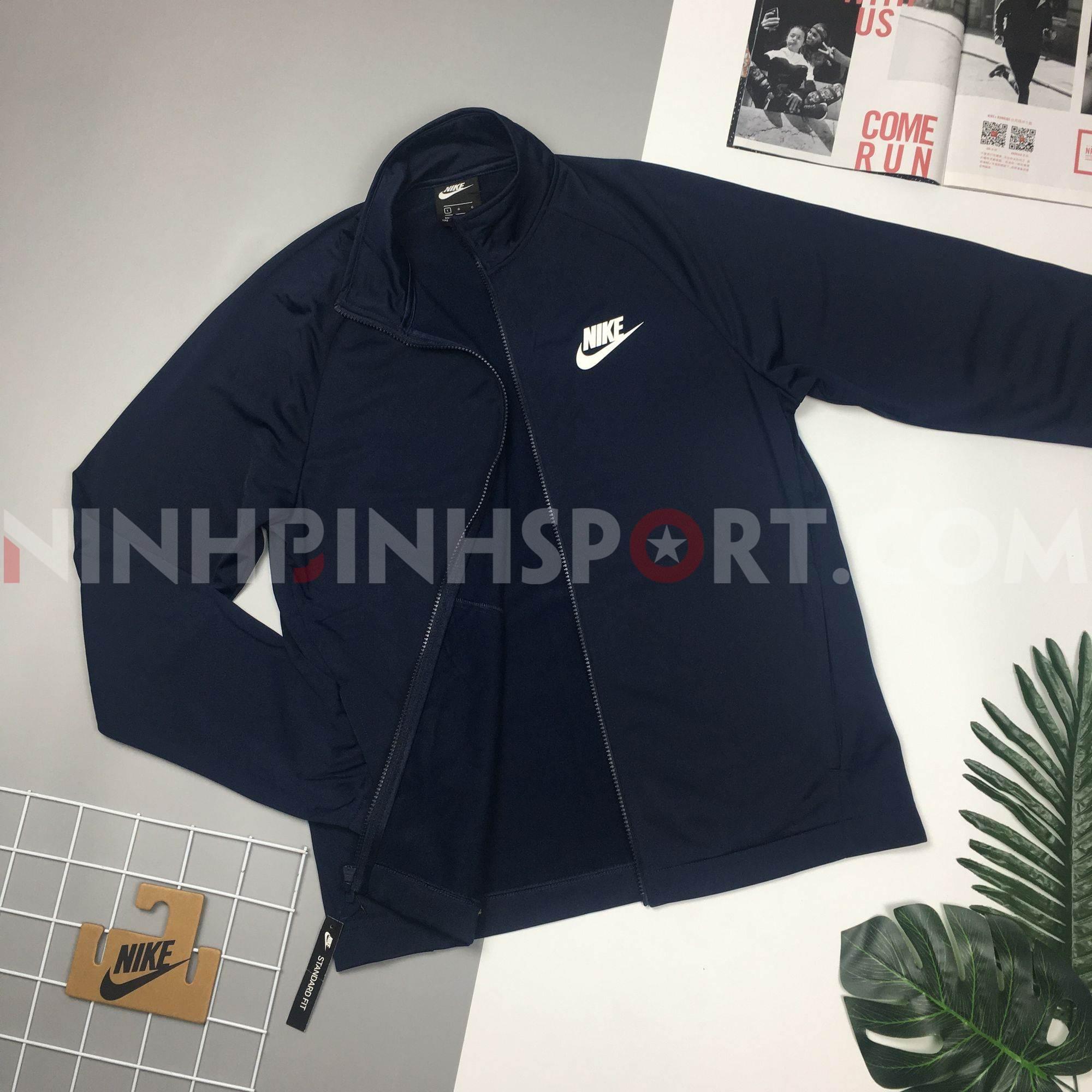 Áo thể thao nam Nike As Tracksuit Basic 861781-451A