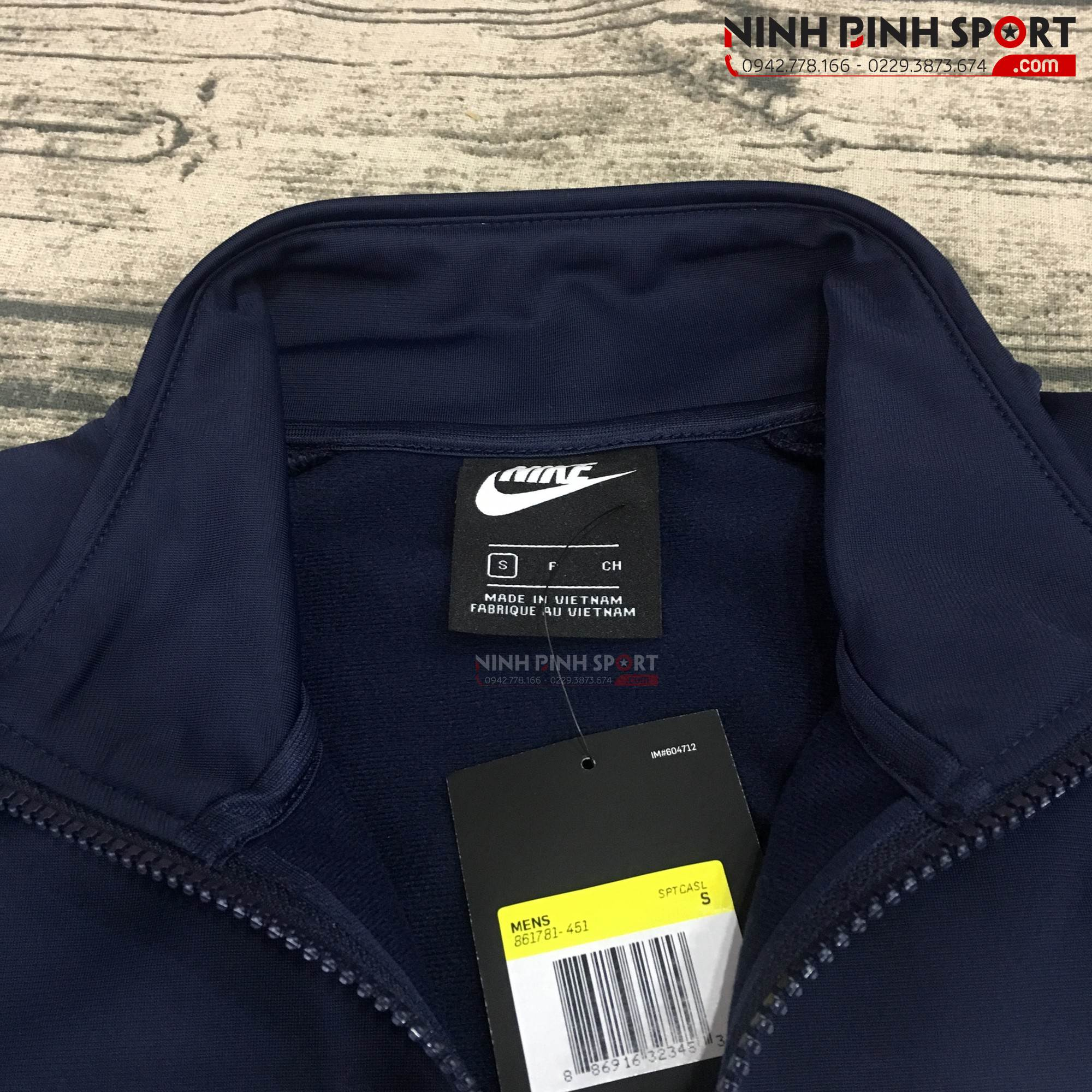 Áo khoác thể thao nam Nike As Tracksuit Basic 861781-451