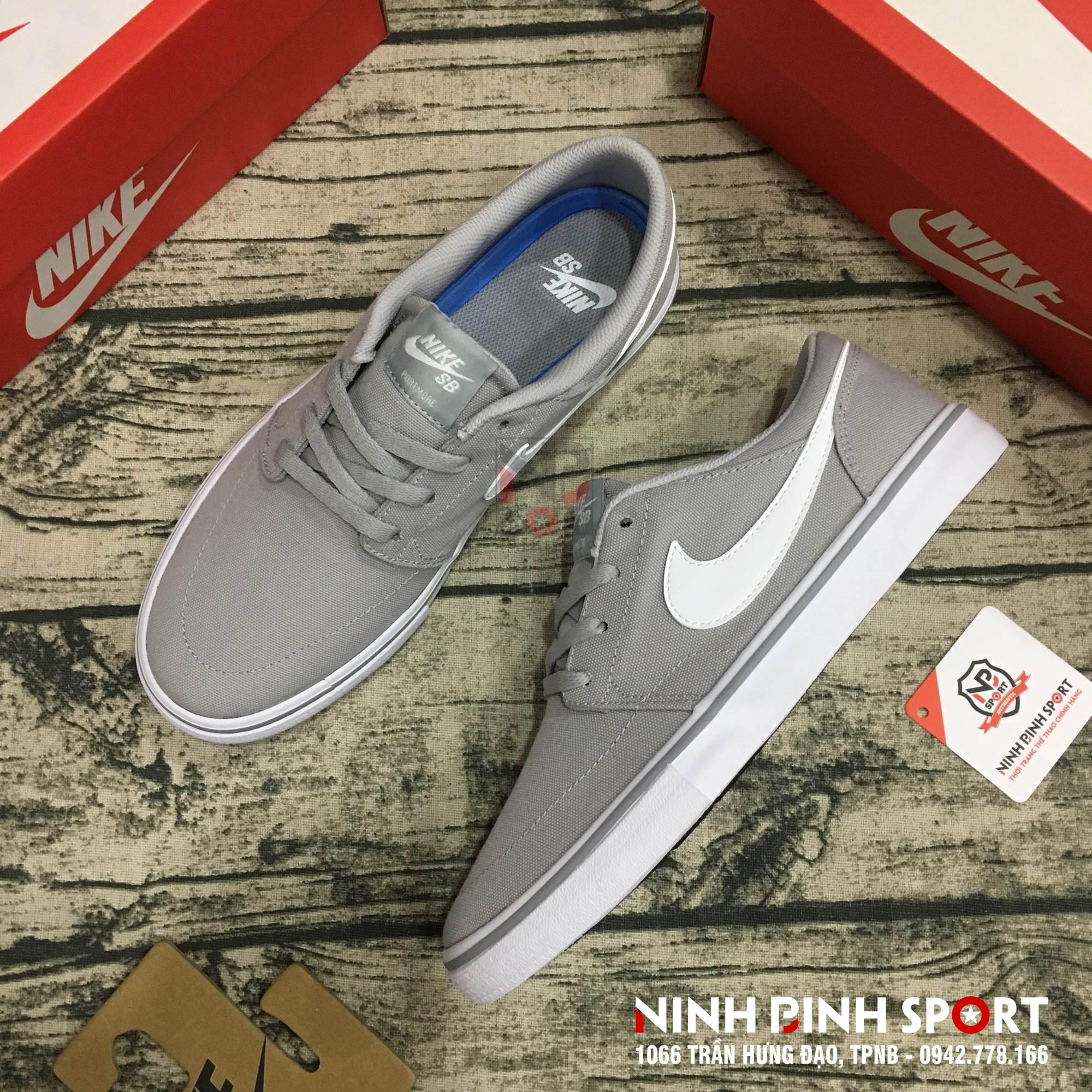 Giày thể thao nam Nike SB Solarsoft Portmore 880268-011