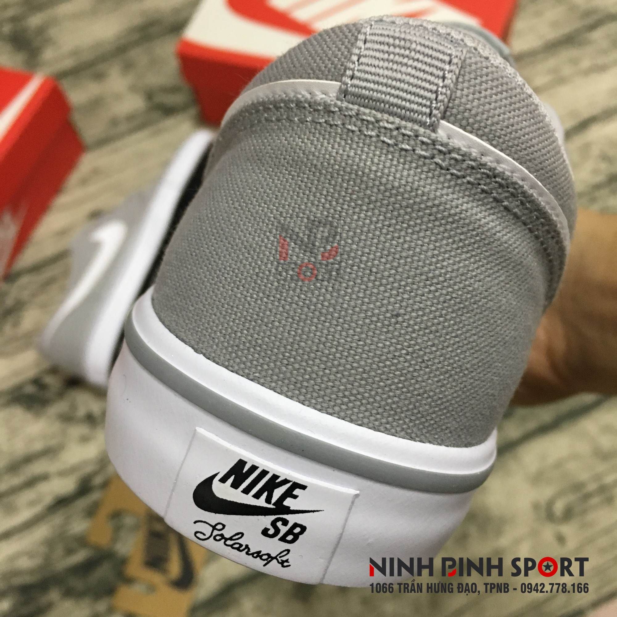 Giầy thể thao nam Nike SB Solarsoft Portmore 880268-011