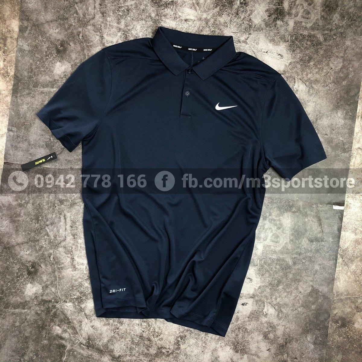 Áo thể thao nam Nike golf Polo Victory Slim Solid 891856