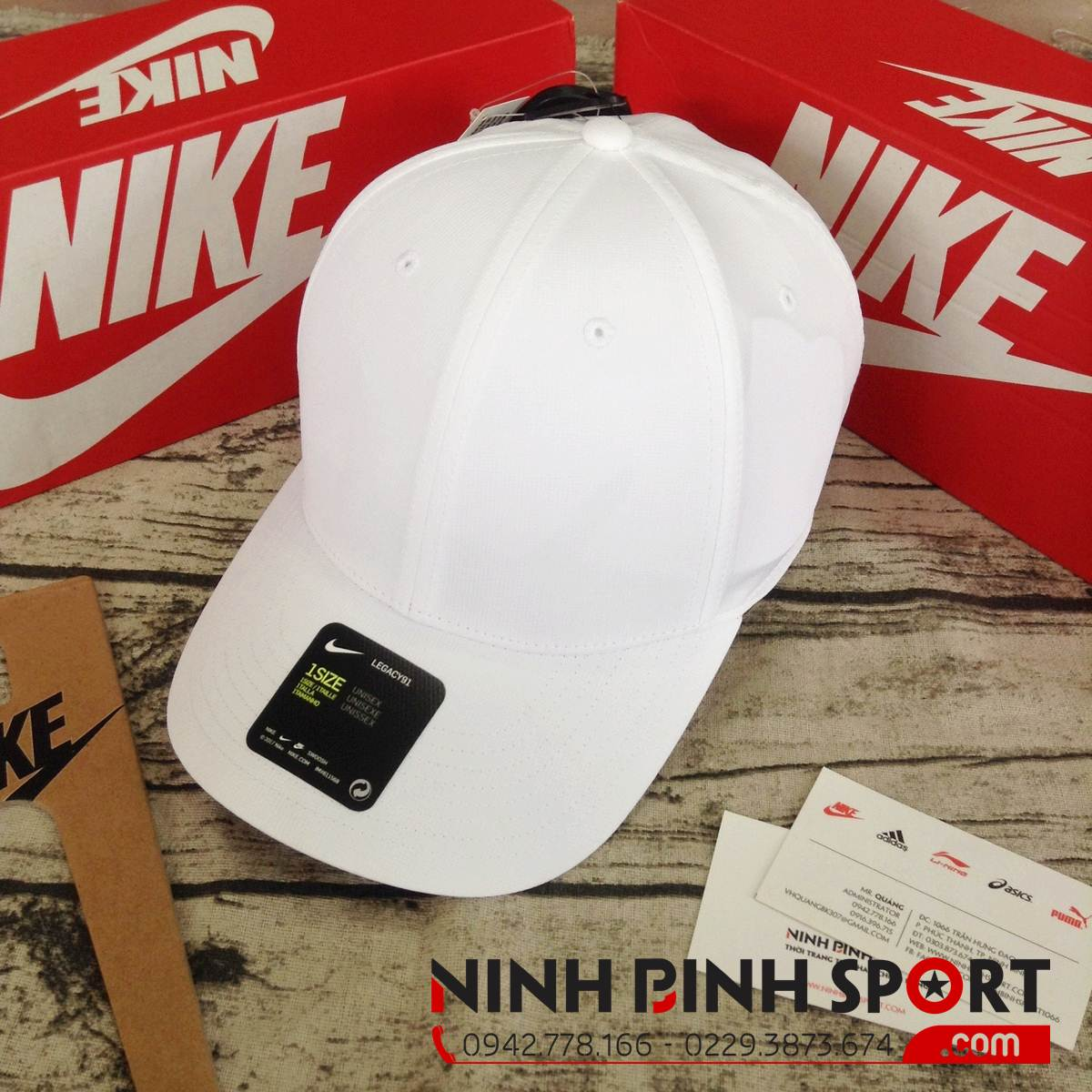 Mũ Nike Legacy91 Tech Custom 892652-100