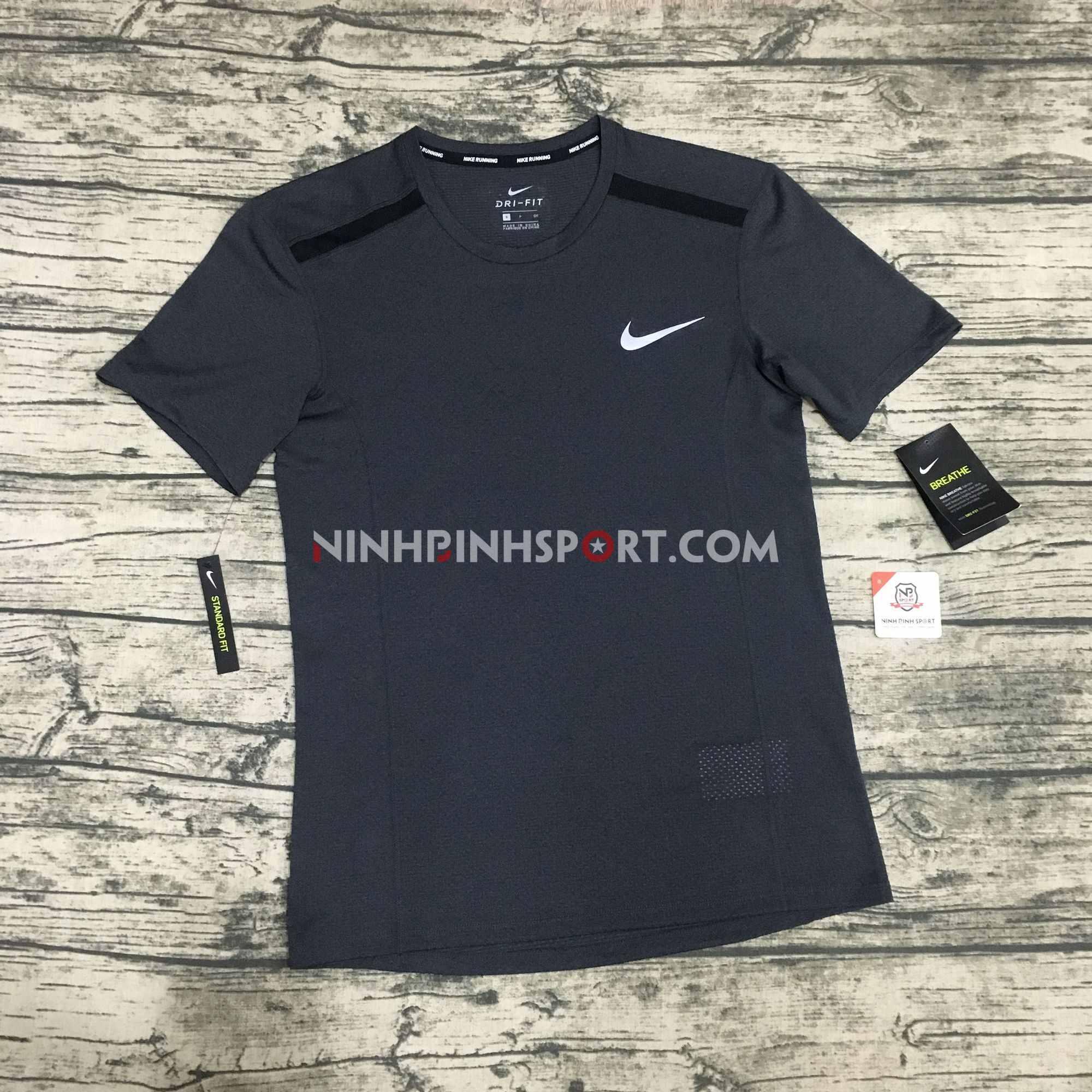 Áo thể thao nam Nike Breathe Cool Miler S/S Top 892995-010