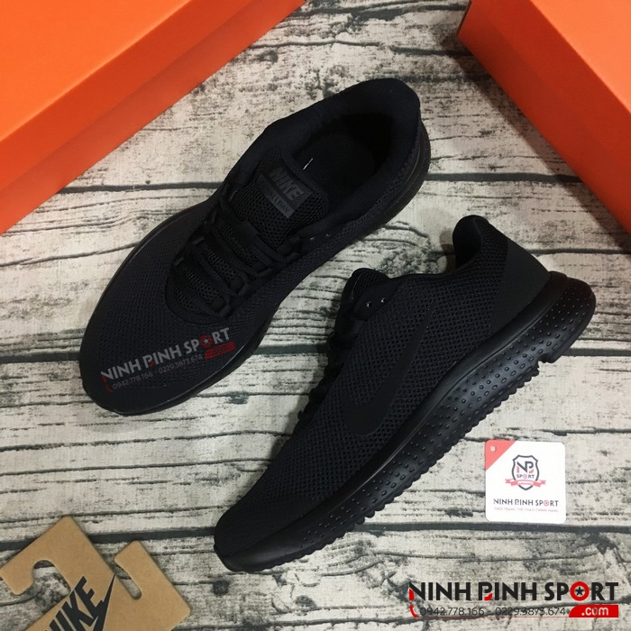 Giầy thể thao nam Nike Runallday Triple Black 898464-002