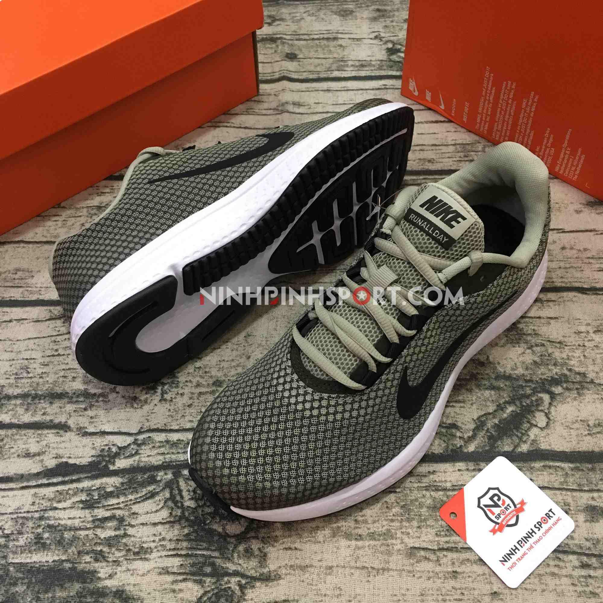 Giày thể thao nam Nike Runallday Grey 898464-300
