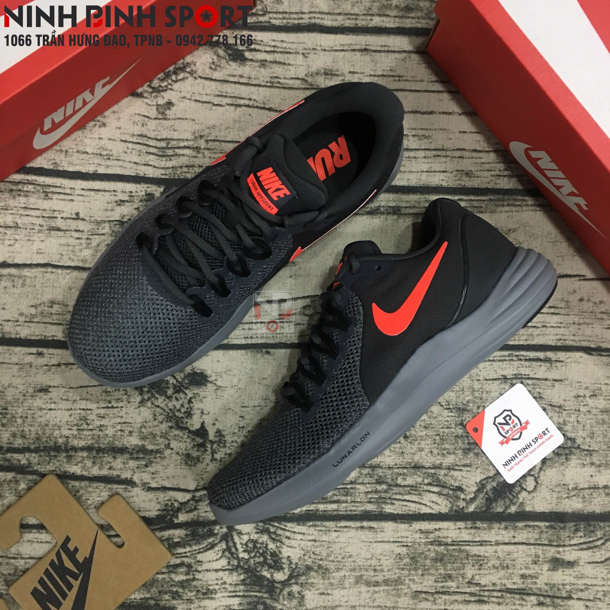 Giày thể thao nam Nike Lunar Apparent 908987-006