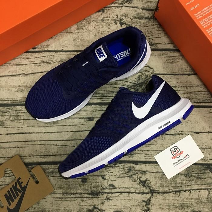 Giày thể thao Nike Run Swift Black Royal Blue White Men's Athletic Running 908989 404