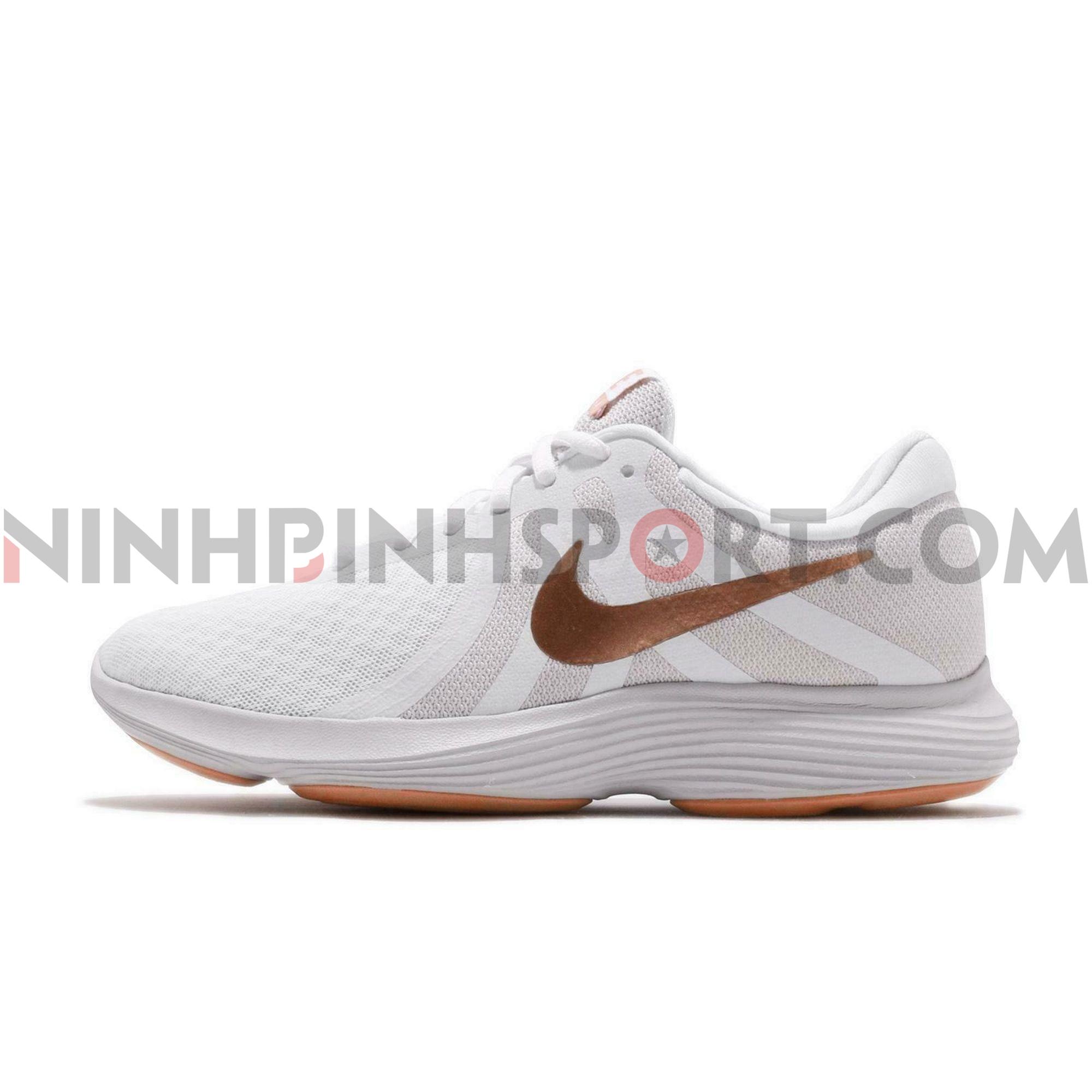 Giày thể thao nữ Nike Revolution 4 White 908999-102