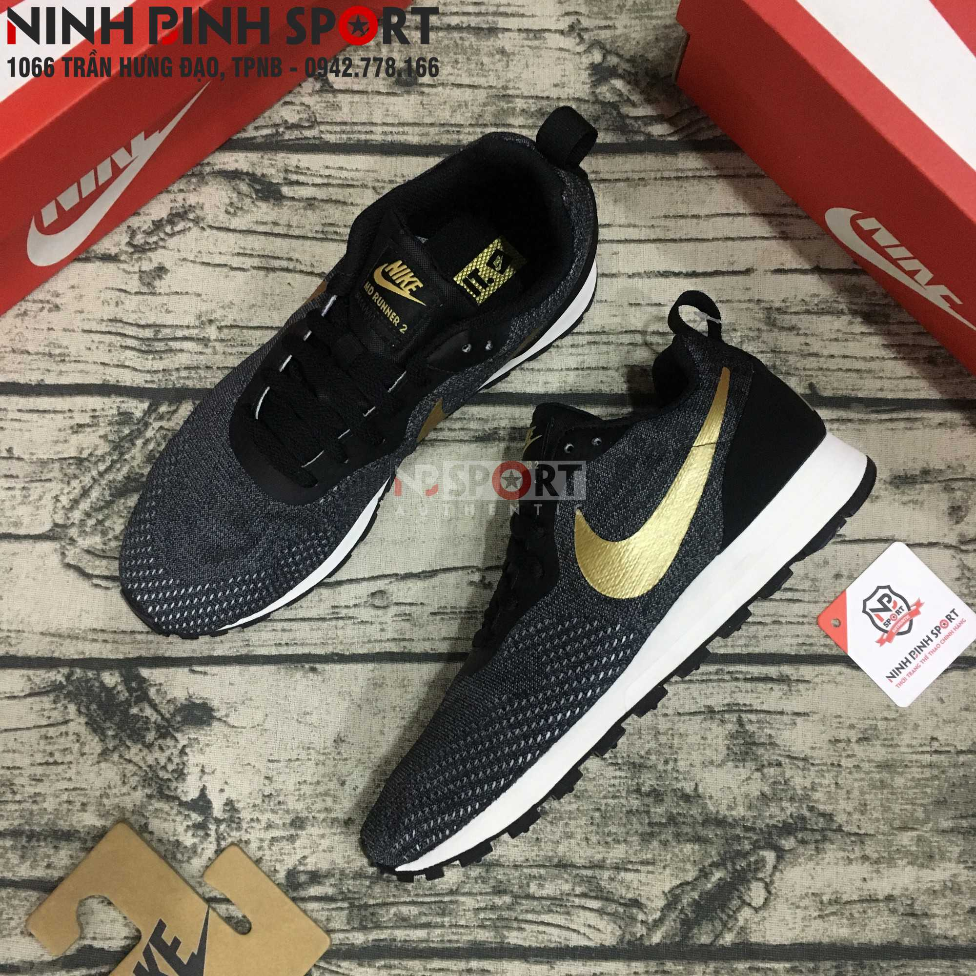 Giầy thể thao nam Nike MD Runner 2 Eng 916774-011